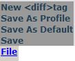Default Profile Tool